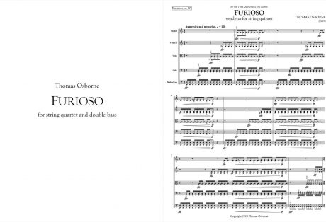 Furioso: Vendetta for String Quintet