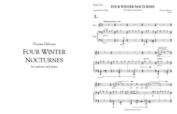 Four Winter Nocturnes 1