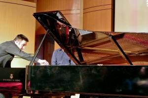 Jon Performing