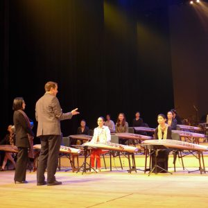 Gayageum Orchestra rehearsal