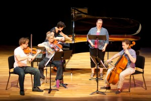 "Rehearsal for ""Songs of a Thousand Autumns"" at the Asia Society"