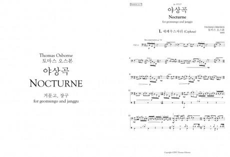 야상곡 (Nocturne)