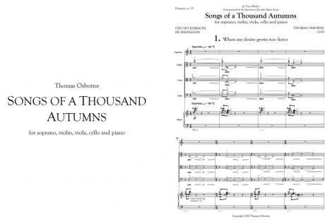 Songs of a Thousand Autumns