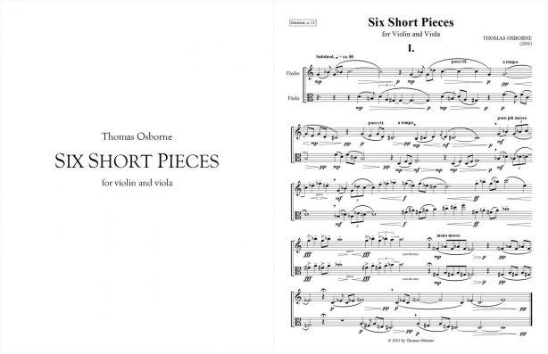 Six Short Pieces
