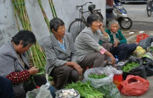 Pudong Produce Sellers