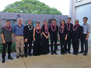 Chinese Music Virtuosi with Hawaii performers and composers