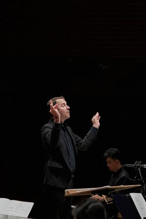 Conducting Gyeonggi Traditional Orchestra